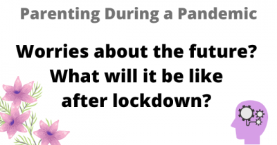 Worries about the future? What will it be like after lockdown?